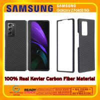 Case Samsung Galaxy Fold 2 Fold2 REAL ARAMID CARBON (Bukan PITAKA)