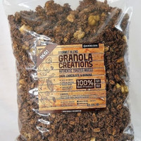 Granola Creation Chocolate Banana 1 Kg toasted muesli sereal