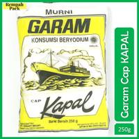 Garam Beryodium Cap Kapal 250 Gram