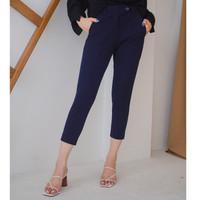 Korz Smart Ankle Pants Magic Waist Celana Panjang Wanita