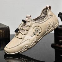 sepatu pria sneakers bahan kulit sapi asli kwalitas 1 original import