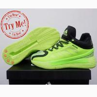 sepatu basket derrick rose adidas 11 Signal green high pria wanita kid