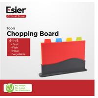 Esier Chopping Board - Talenan/Telenan Multifungsi 1 Set (4 Jenis)