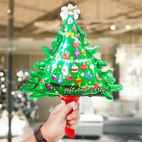 Balon Foil Pohon Natal Mini / Balon Foil Natal / Balon Foil Xmas