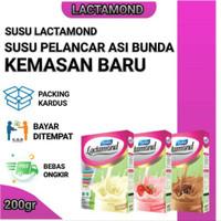 Lactamond - Asi Booster Almond original - Almond Pelancar Asi 200grm