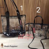 Tas Hush Puppies Clear Original Tote Bag Transparan