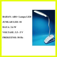 lampu belajar meja baca usb led lamp DL 200 digigear bisa jepit