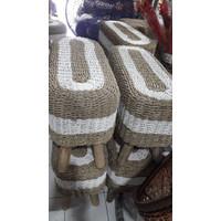 BANGKU PANJANG SEA GRASS / LONG CHAIR / BANGKU UNIK MURAH UKURAN KECIL