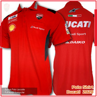 Polo Shirt Motogp Ducati Corse Red 2020