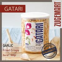 Bawang Putih Goreng / Garlic Fried Crispy - Gatari - 180gram
