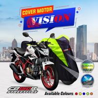 Sarung motor CB 150 R cover penutup body motor waterproof vision - Merah