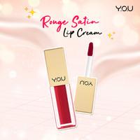 You Lipstick Lipstik Rouge Satin Lip Cream You Makeup