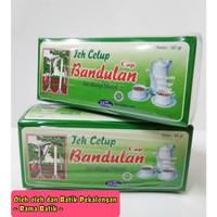 Teh Celup isi 25 pcs Teh wangi Melati (box Hijau) Cap Bandulan Segel