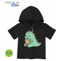 Kaos Hoodie Anak Dino 2 Baju Hoodie Anak #KDA-21