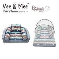 Vee & Mee Kasur Bayi Lipat Oval Rhino Series