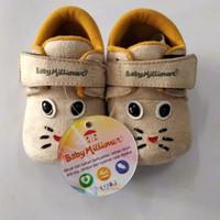 sepatu bayi baby millioner bmbk 433 cream