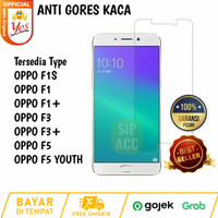 HighQuality Tempred Glass Anti Gores Bening OPPO F1S F1 F3 F5 YOUTH
