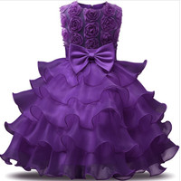 baby clothes china children girl 7th birthday party dress party wear d