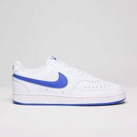 Sepatu Sneakers Nike Court Vision Low White Blue Original BNWB Murah