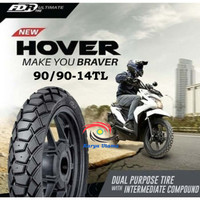 Ban Luar Matic Federal FDR 90/90-14 300-14 Ring 14 Hover Tubeless