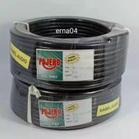 Kabel Listrik Pajero 2x2.5 25 Meter ( Hitam )