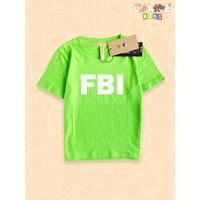 Kaos Baju anak Kids FBI agen rahasia polis