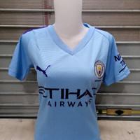 Jersey Kaos Baju Bola Cewek Ladies City Home 2019/2020 Grade Ori