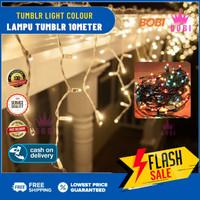 Lampu Tumblr LED - Lampu Natal Kelap Kelip 100 LED