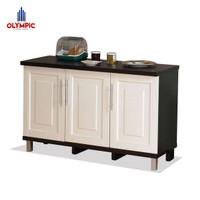 Olympic Kitchen Set 3 Pintu / Meja Dapur / Kabinet Bawah / KBT010880i