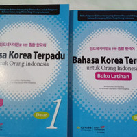 Paket Bahasa Korea Terpadu + Latihan jilid 1