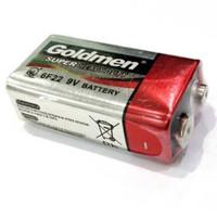Baterai 9v / Battery 9 Volt / Baterai kotak Merk Goldmen