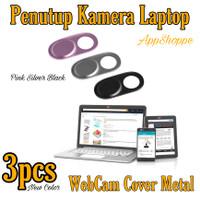 Webcam Cover METAL Ultra Slim Camera Lense Privacy Protection 3pcs