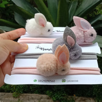 Headband Baby Nylon USA/ Bandana Bayi / bunny headband