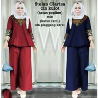 AP stelan Clarissa Celana kulot, pakaian gamis jumbo wanita muslim