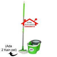 Alat Pel Pembersih Lantai Putar Magic Mop Spin Mop GSF Murah