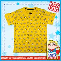 Baju anak laki2 / Kaos anak laki-laki motif minion fullprint 1-10 thn