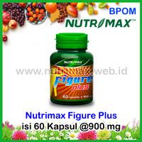 Nutrimax Figure Plus Vitamin/Obat Herbal Penambah Nafsu/Penafsu Makan