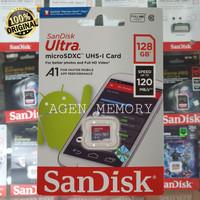 Memory Card MicroSD MIcro SD Sandisk Ultra Class 10 128GB 128 GB A1