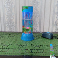 Aquarium Lampu Led Tabung Murah Dengan Gelembung Buatan