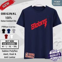 t shirt kaos pria laki laki dewasa distro cotton combed 30s Bloods blo