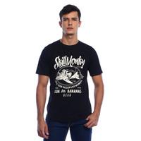 Skill Monky Plane Black T-shirt