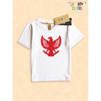 Kaos Baju anak Kids Garuda Indonesia Merah putih