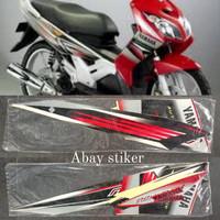 Striping Stiker & list body Yamaha Nouvo Z 2005 2006 merah