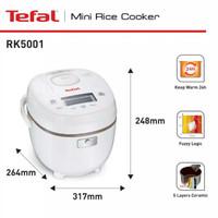 Tefal Fuzzy Logic Mini Rice Cooker 0,7L RK 5001