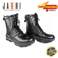 Sepatu PDL Big Size/Jumbo 46-47 PDL Wan Standart TNI / Militer Kulit