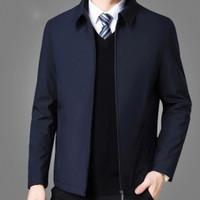 jaket pria bahan katun Premium / Jaket Kantor / Jaket Formal/ Semi jas