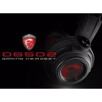 MSI DS502 7.1 Virtual Surround Sound RGB Gaming Headset / Headphone