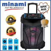 MINAMI PARTY BOX 120 SPEAKER AKTIF PORTABLE 12 inch
