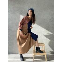 AMR ORIGINAL - SCUBA LONG DRESS - AYANA GAMIS WANITA LONG DRESS
