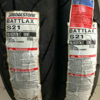 Ban Battlax S21 160 / 60 - 17 & 120 / 70 - 17